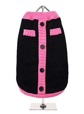 Black & Pink Mod Sweater